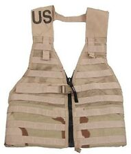 Us Army MOLLE II Fighting Load Carrier flc modular chaleco 3 color Desert tan