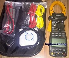 Three Phase Power Clamp Meter Harmonics Tester True RMS 1000A 600KW RS232 2205