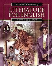 Literature for English Advanced Two, Student Text, Goodman, Burton, Good Book