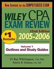 Wiley CPA Examination Review 2005-2006: Outlines and Study Guides v. 1 (Wiley CP