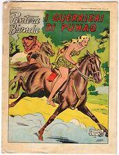 fumetto PANTERA BIONDA ANNO 1954 COLLANA JUNGLA AVVENTUROSA NUMERO 42 EDICOLA