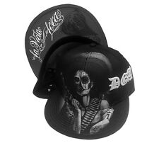 David Gonzales Art DGA La Vida Loca Woman Gun Smoking Tattoo Snapback Hat Cap