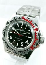 Military WATCH VOSTOK DIVER AMFIBIAN WR200 Men's Automatic 2416B #110647 NEW