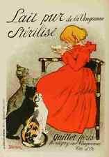 A4 photo STEINLEN les affiches illustrees 1886 1895 1896 lait pur stériliser prin