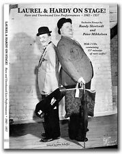 Laurel & Hardy On Stage! Brand New Book Rare and Unreleased Live Performances