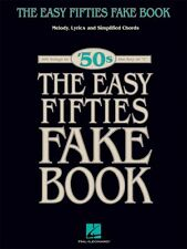 The Easy Fifties Fake Book Sheet Music Easy Fake Book NEW 000240255