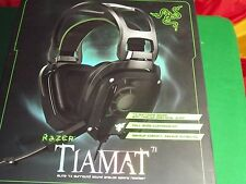 Razer Tiamat 7.1 – Analog 7.1 Surround Sound Gaming Headset Black GENUINE
