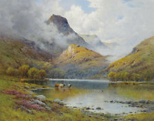 Breanski De Alfred The Trossachs Ben Aan And Loch Katrine Print 11 x 14  #3595