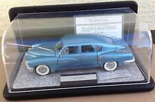 Franklin Mint 1/24 The 1948 TUCKER Display Case EXCELLENT COA Tag light Blue