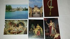 Musee Napoleon Fontainebleau 6 postcards
