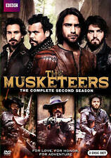 The Musketeers: Second Season 2 (DVD, 2015, 3-Disc Set)