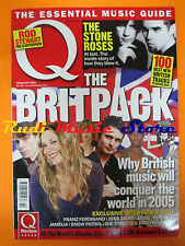 Q Magazine 223/2005 Keith Richards Muse Stone Roses Rod Stewart James Blunt Nocd