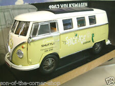 "1/18 GREENLIGHT 1962 VW VOLKSWAGEN MICRO BUS MICROBUS ""SPACE AGE LODGE"" #12851"