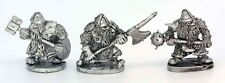 Dwarf with 2 Handed Weapons Warhammer Fantasy Armies 28mm Unpainted Wargames