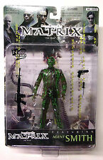 Agent Smith Clear Variant Series 1 Action Figure New 1999 Matrix Movie  N2 Toys