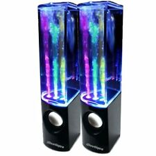 Iboutique la originale noir danse eau haut-parleur colourjets USB PC / MAC / MP3 / etc