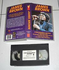 Vhs JAMES BROWN 1956-76 A Video biography OTTIMO1991