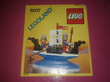 LEGO castle # 6017,  King's Oarsmen, Notice uniquement /Instructions only