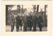 7/277  - 4 x FOTO SOLDATEN SCHWARZE UNIFORMEN TECHNIK  - KEIN BLITZER