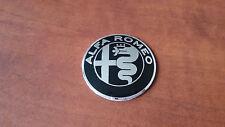 Stemma Logo Fregio Manubrio Sterzo Volante ALFA ROMEO 147 GIULIETTA MITO 40mm