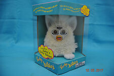 Furby Babies 1999 Tiger Electronics Model 70-940  White Lambs Fur New Sealed Box