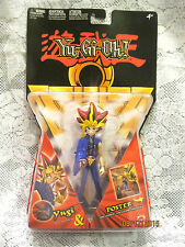 2002 Mattel Yu-Gi-Oh! Yugi Moto 6in. Action Figure & Poster #56556, Unopened MIB