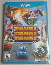 Tank! Tank! Tank! Wii U Factory Sealed BRAND NEW FREE SHIPPING