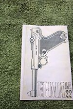 ERMA LA22 .22 CALIBER SMALL FOLDED PISTOL OWNERS MANUAL, nice reference info