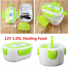 12V Portable Electric Heated Car Plug Heating Lunch Food Box Container For Benz1