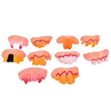 Halloween Funny Joke Teeth Fun Brace Face Gag Costume Nerd For Kids and Teen NIU