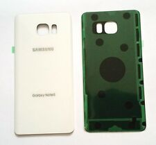 "Original OEM Battery Back Cover Samsung Galaxy Note 5 N920 ""WHITE"" ALL Carriers"