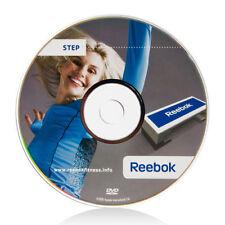 Original Reebok Step DVD, Aerobic Gin Miller, Stepper Neu DVD, Workout, Training