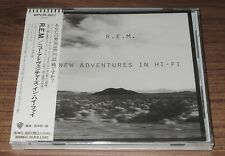 SEALED! Japan PROMO issue CD R.E.M. Michael Stipe OBI New Adventures In Hi-Fi