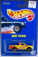 Hot Wheels No. 102 Surf Patrol Yellow w/CT's Blue Card 1991 (no speed points)