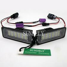 New 2Pcs 18SMD LED License Plate Light For Volkswagen Rabbit 2006 2007 2008 2009