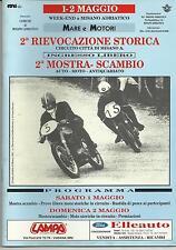 PROGRAMMA, FOTO D'EPOCA ED ALTRO DELLA RIEVOCAZIONE DI MISANO ADRIATICO 1-2/5/93