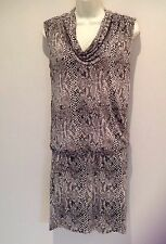 Michael Michael Kors Snake Print Jersey dress XS = UK 8.US 4.EU 36