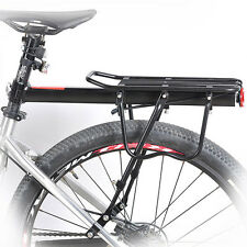 Disc Brake Bicycle Road Bike Alloy Rear Rack Carrier Pannier Side Protect