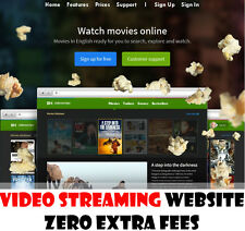 Video Streaming Website - Fully Built & No Extra Fees - Home Online Business