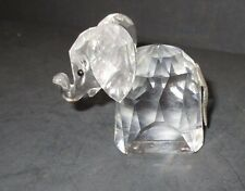 Swarovski Crystal Figurine  ELEPHANT Made in  AUSTRIA  LL B242 PF