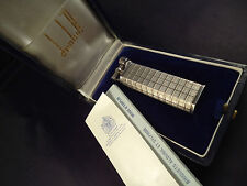 Dunhill Sylphide Lighter - Solid Silver - Hallmarked/Cased - Feuerzeug - Briquet