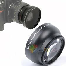 Digital High Definition 49mm 0.45x Wide Angle Macro Lens Auto Focus For Camera