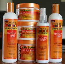 Cantu Shea Butter Natural 6pcs Set Hair Lotion, Cream, Mist, Gel, and Treatment