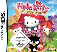 Nintendo DS 3ds Hello Kitty Big City Dreams * Deutsch * como nuevo
