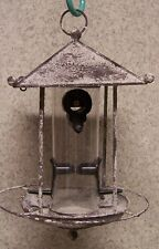 Bird Feeder Pagoda seed NEW metal