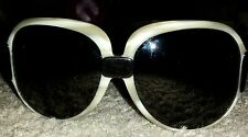 FENDI SUNGLASSES ~ EUC ~ BROWN LENSES & BLACK BRONZE FRAMES Made in Italy..