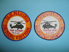 b6740 USMC Vietnam US Marines Da Nang Task Element 79.3.3.6 helicopter aviation