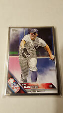 2016 Topps Series 1 Brett Gardner #116 Silver Framed Parallel 10/16 Yankees