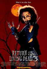 RETURN OF THE LIVING DEAD 3 Movie POSTER 27x40 Mindy Clarke James T. Callahan