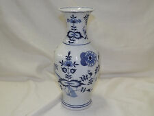 Blue Danube Onion Japan Tall Vase